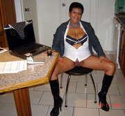 Photos du minou de Libido40, La secrétaire de Seb, suite
