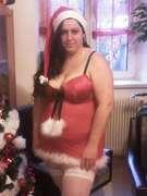 Photos des seins de Sandrina57, En Mère-Noel