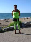 Photos de la lingerie de Libido40, En vert fluo