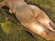 Photos des fesses de Cathy63, mes fesses cet été