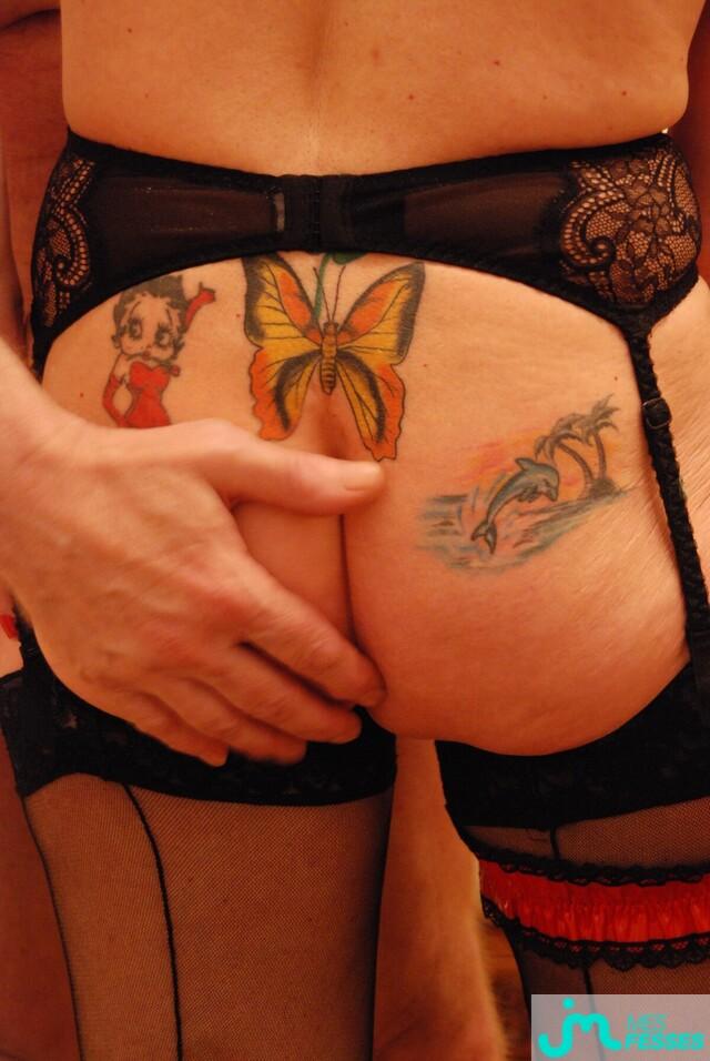 Photo des fesses de Tatoonette